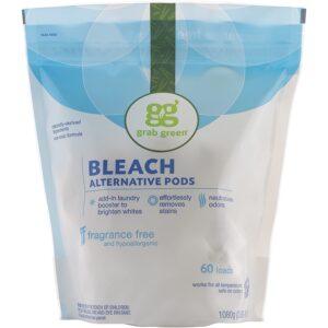 The Best Laundry Whitener Option: Grab Green Natural Bleach Alternative Pods