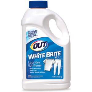 The Best Laundry Whitener Option: OUT 4 lb. 12 oz. Bottle White Brite Laundry Whitener