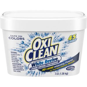 The Best Laundry Whitener Option: OxiClean White Revive Laundry Whitener+Stain Remover