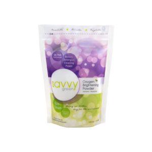 The Best Laundry Whitener Option: Savvy Green Oxygen Brightening Powder