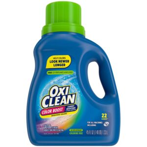 The Best Laundry Whitening Option: OxiClean Color Boost Color Brightener Stain Remover