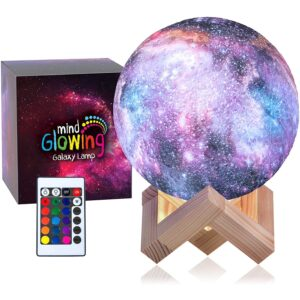 The Best Moon Lamp Options: Mind-glowing 3D Galaxy Moon Lamp