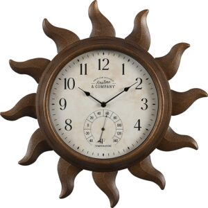 The Best Outdoor Clock Options: FirsTime & Co. Sundeck Outdoor Clock