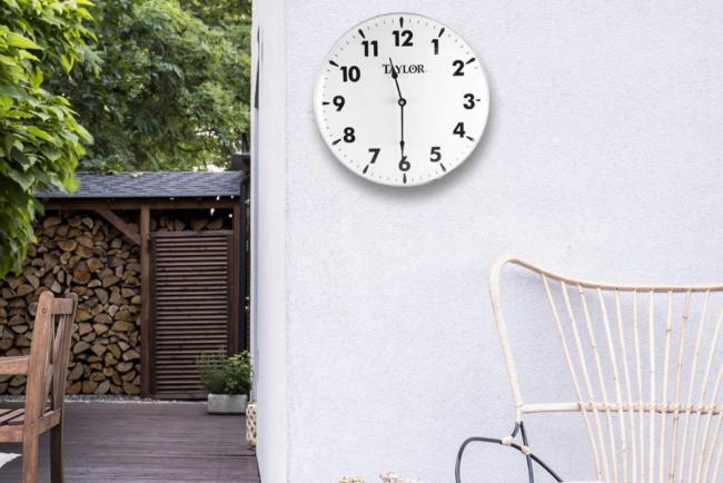 The Best Outdoor Clock Option