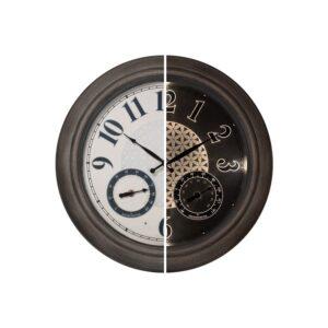 The Best Outdoor Clock Options: PresenTime & Co Indoor_Outdoor Luminous Wall Clock