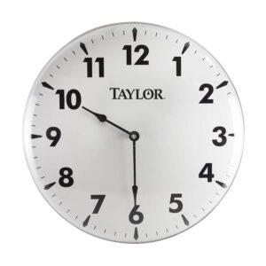 The Best Outdoor Clock Options: Taylor Precision Products Patio Clock (18-Inch)