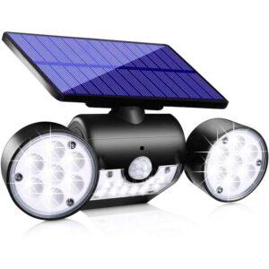 最好的户外墙灯选择:Topmante升级太阳灯户外