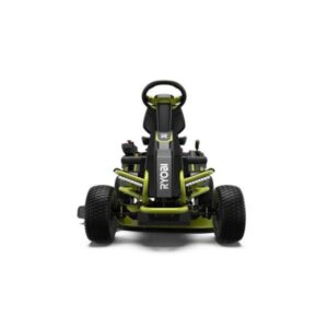 The Best Riding Lawn Mower For Hills Options: Ryobi 38 in. 100 Ah Battery Electric Rear Engine