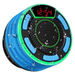 The Best Shower Radio Options: BassPal Bluetooth Speakers IPX7 Waterproof FM Radio