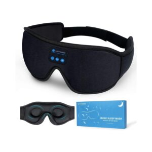 The Best Sleep Headphones Options: Lightimetunnel Sleep Headphones Bluetooth 3D Eye Mask