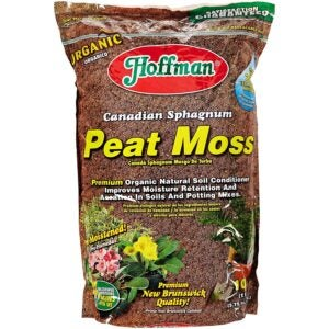 The Best Soil For Roses Options: Hoffman 15503 Canadian Sphagnum Peat Moss