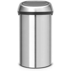 最好的垃圾桶选择:Brabantia Touch Trash可以16加仑_60升