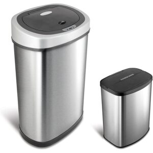 The Best Trash Can Options: NINESTARS CB-DZT-50-9_8-1 Automatic Touchless