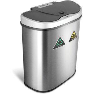 最佳垃圾桶选择:九星自动感应垃圾桶