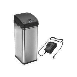 最好的垃圾桶可以选择:无可用的13加仑传感器垃圾桶可以无电池