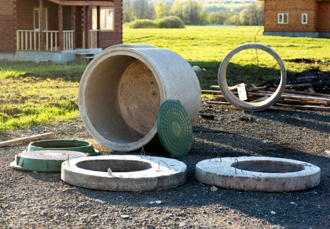 Septic Tank Cost: Replacement Parts