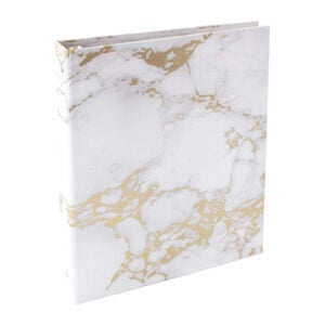 The Best Binder Options: bloom daily planners Binder - Gold Marble
