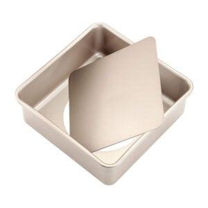 The Best Cake Pan Options: CHEFMADE Square Cake Pan, 8-Inch Deep Dish