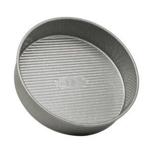 The Best Cake Pan Options: USA Pan Bakeware Round Cake Pan, 9 inch, Nonstick