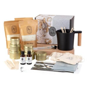 The Best Candle-Making Kit Option: Scandinavian Candle Co. Luxury Candle Making Kit