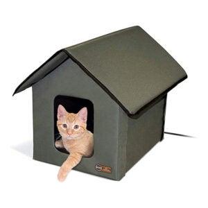 最佳猫咪收容所选择:K&H宠物产品户外加热猫咪屋