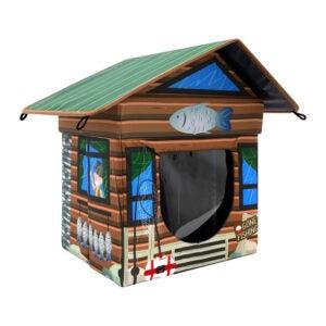 最好的猫避难所选项:Kitty City户外客舱猫房子,防水