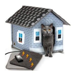 最佳猫舍选择:PETYELLA加热猫舍为户外猫在冬天
