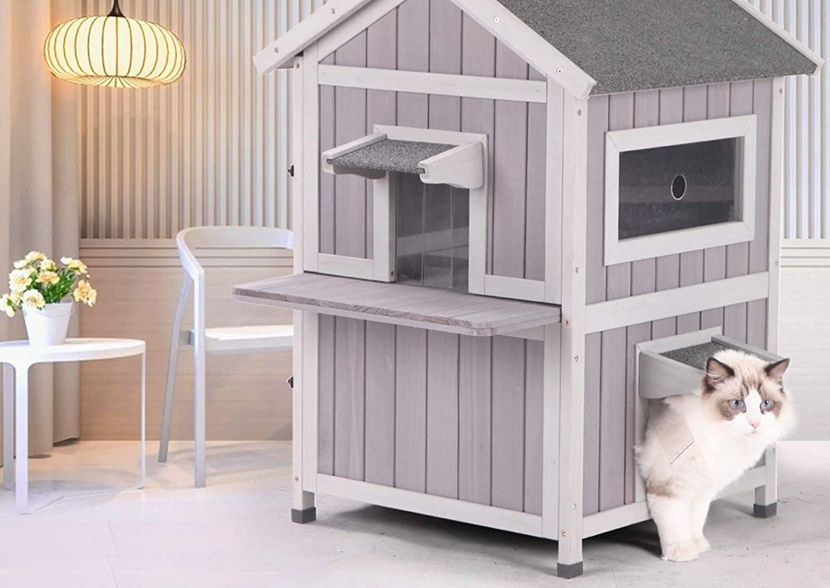 The Best Cat Shelter To Keep Your Pet Protected And Safe Bob Vila