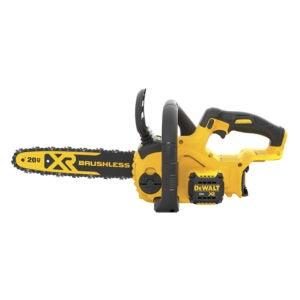 最佳锯切柴火选项:德沃特20V 12英寸MAX XR电锯