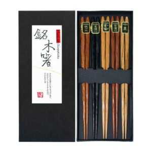 The Best Chopsticks Options: HuaLan Japanese Natural Wood Chopstick Set Reusable