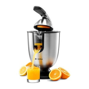 The Best Cold Press Juicer Options: Eurolux ELCJ-1700 Electric Citrus Juicer