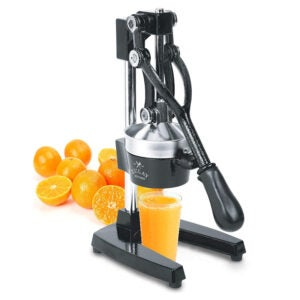 The Best Cold Press Juicer Options: Zulay Professional Citrus Juicer Manual Citrus Press