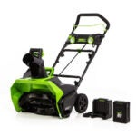 The Best Cordless Snow Blower Option: Greenworks PRO 60-Volt Battery Cordless Snow Blower