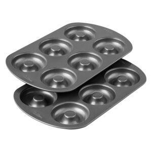 The Best Donut Pan Option: Wilton Non-Stick 6-Cavity Donut Baking Pans, 2-Count