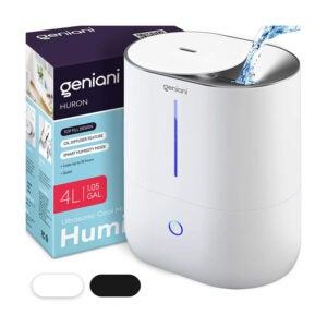 The Best Filterless Humidifier Option: GENIANI Top Fill Cool Mist Humidifier