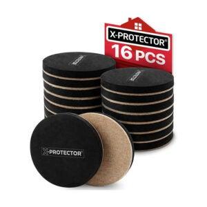 The Best Furniture Slider Options: X-PROTECTOR Felt Furniture Sliders Hardwood Floors