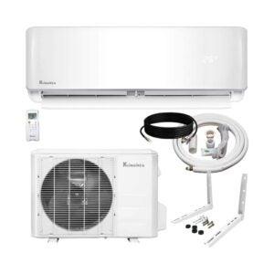 The Best Heat Pump Option: Klimaire 12,000 BTU Ductless Mini-Split Heat Pump