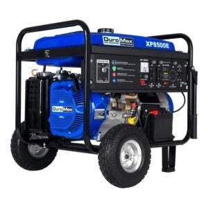 The Best Home Generator Options: DuroMax XP8500E Gas Powered Portable Generator