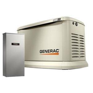 The Best Home Generator Options: Generac 22000-Watt (LP) 19500-Watt (NG) Air-Cooled