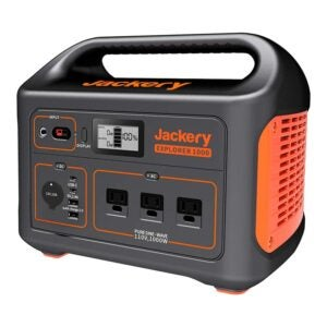 The Best Home Generator Options: Jackery Portable Power Station Explorer 1000, 1002Wh