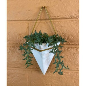 The Best Indoor Succulent Options: Simply Succulents Diamond Wall Planter