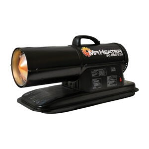最好的煤油加热器选项:加热器50,000 Btu强制空气煤油加热器