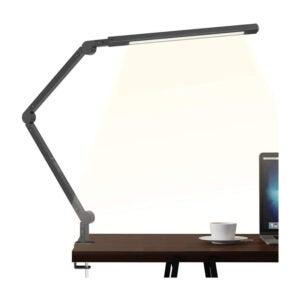 JOLY JOY Swing Arm, LED Desk Lamp with Clamp