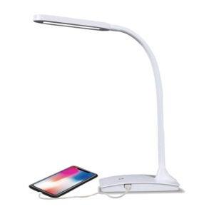 The Best LED Desk Lamp Options: TW Lighting IVY-40WT The IVY LED Desk Lamport