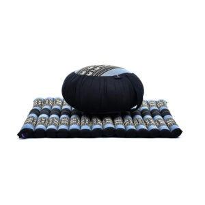 最好的冥想垫选择:Leewadee冥想坐垫设置圆形Zafu枕头