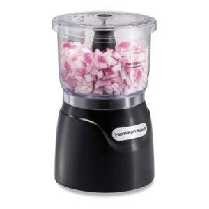 The Best Mini Food Processor Options: Hamilton Beach Mini 3-Cup Food Processor
