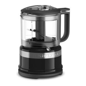 The Best Mini Food Processor Options: KitchenAid KFC3516OB 3.5 Cup Food Chopper