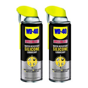 The Best Non Stick Spray for Snow Blowers Options: WD-40 Specialist Water Resistant Silicone Lubricant