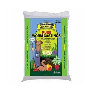 The Best Organic Fertilizer Option: Wiggle Worm Worm Castings Organic Fertilizer