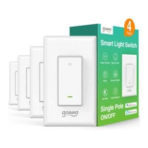 The Best Smart Switch Options: Gosund Smart Light Switch In-Wall Alexa Google Home